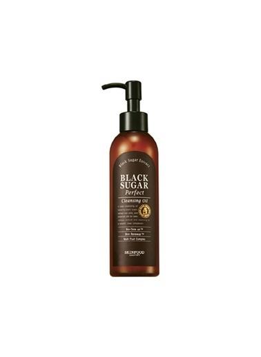 Skinfood Black Sugar Perfect Cleansing Makyaj Temizleyici Ve Yenileyici Yağ 200Ml Renksiz